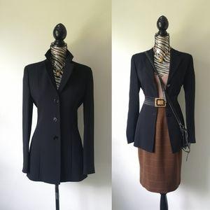Emporio Armani long line blazer coat